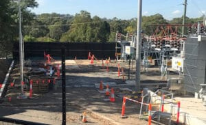 castle hill zone substation upgrade