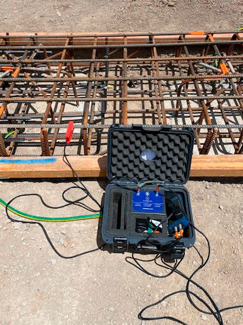 continuity testing embedding welding roberts road zone substation