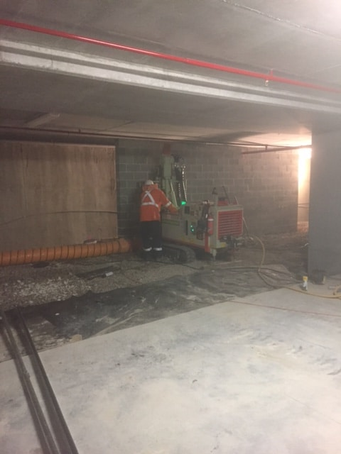 Earthing Solutions Compact Drill Macquarie Park Basement 2