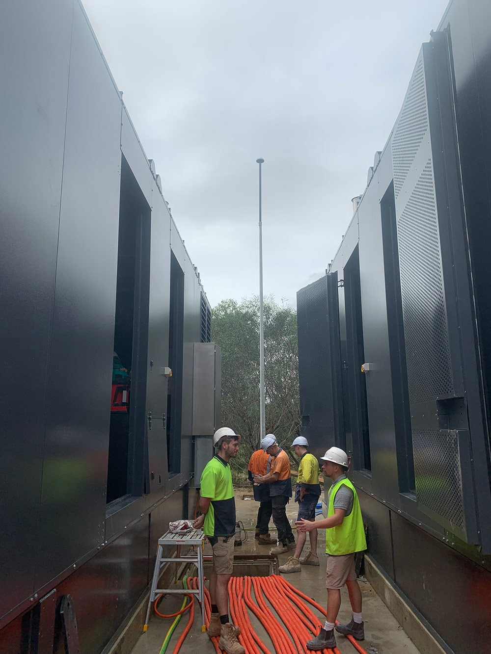 CDC Data Centre Eastern Creek earthing and lightning protection