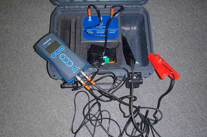 earth testing equipment