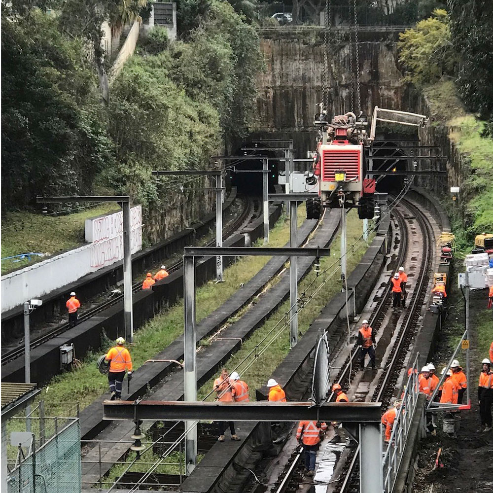 earthing solutions transport for nsw aeo rail corridor woollahra