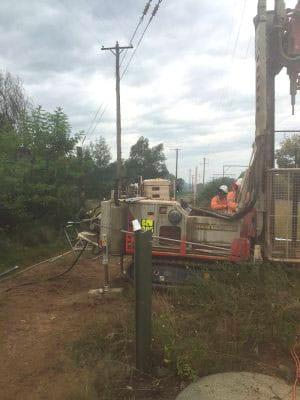 Emu Plains Main West Line earthing project