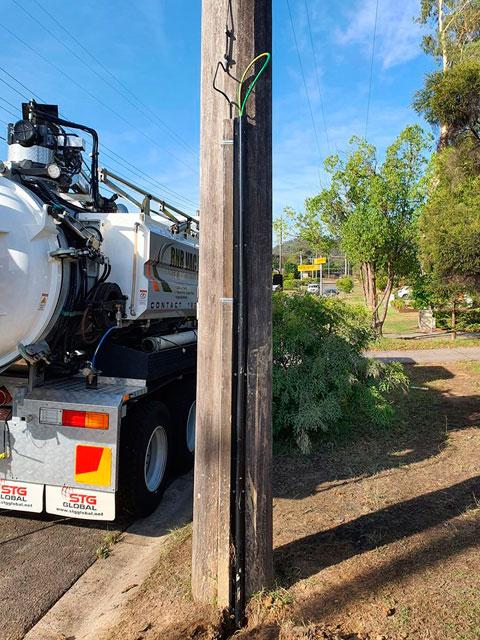 emu plains feeder earth upgrade project