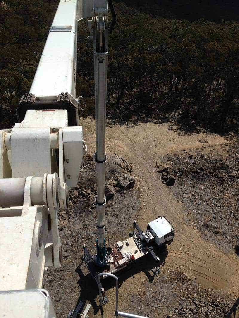 lightning protection system fire tower lookout nsw