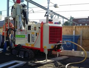 Earthing Solutions compact GEO105 tophammer drill