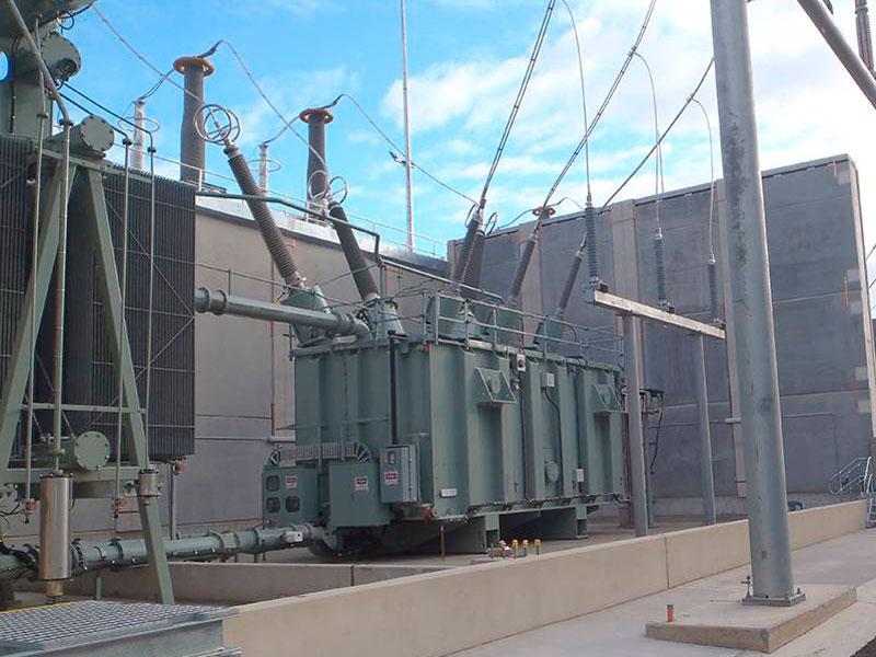 Potts Hill Transgrid Substation earth grid installation