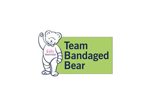 team bandaged bear charity logo