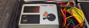 wenner 4-pole soil resistivity testing device