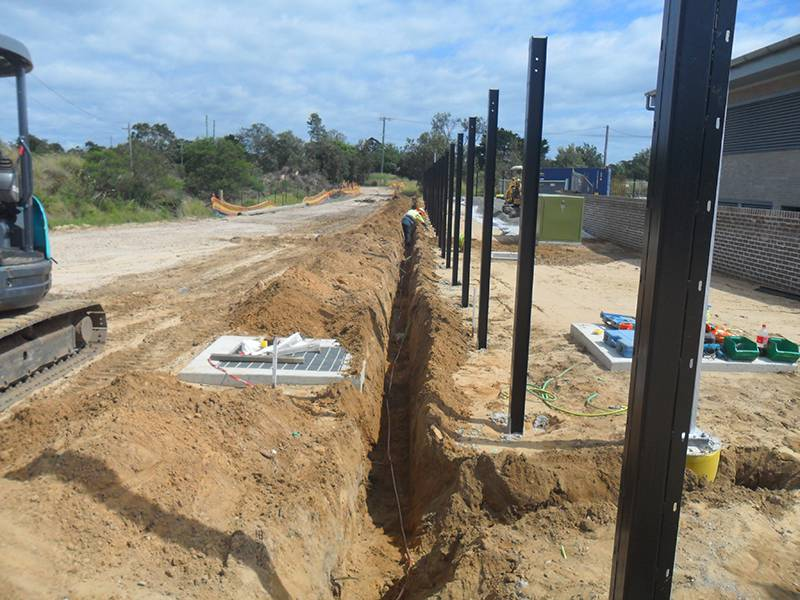 Substation earthing and testing