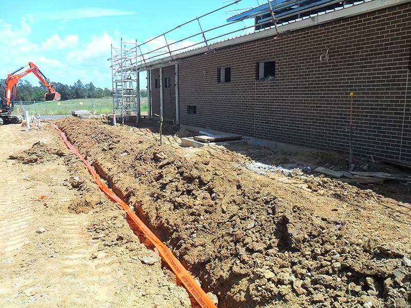 earthing substation project Wilton Zone Substation
