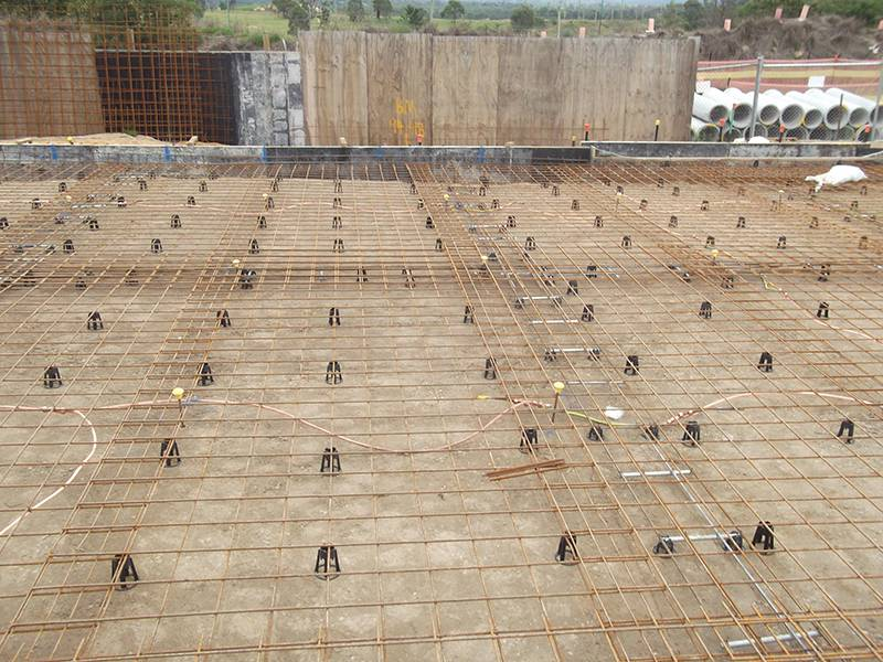 continuity testing steel reinforcement for substation earthing